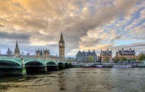 Blick auf Big Ben in London