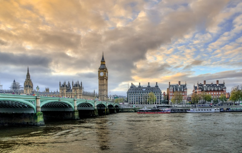 Blick auf Big Ben in London
